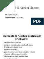 Lezione Algebra Lineare