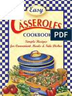 Easy Casseroles Cookbook