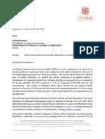 22 Feb 2013 - Nueva solicitud de informacion sobre reforma al Decreto 1713 de 2002
