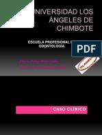 CASO CLÍNICO cecilia endodoncia
