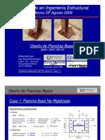 Diseño de Plancha Base_Agosto 09