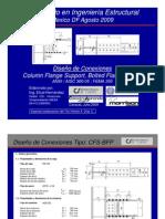 Diseño de Conexiones Flange Plate_Agosto 09