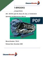 750-91 OM Manual ModelCBLE-250-350HP Dec09
