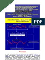 Curso Internacional Simulacion Estocastica Recursos Hidricos