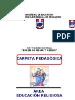 CARPETA PEDAGÓGICA-BOP 2009