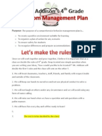 hazens management plan