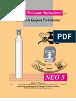 NEO 5 Cilindros de Gas Para Uso Industrial