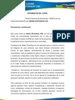 1 INFORMACIÓN DEL CURSO  PHOTOSHOP(3)