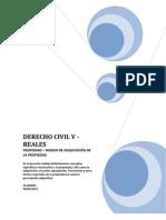 Derecho Civil v - Reales - Sobre La Propiedad