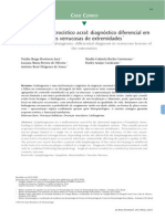 Linfangioma microc+¡stico acral diagn+¦stico diferencial em