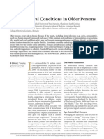 Common Oral Conditions in Older Persons