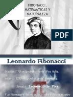 FIBONACCI, MATEMÁTICAS Y NATURALEZA