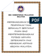 Misi Kementerian Pelajaran Malaysia1
