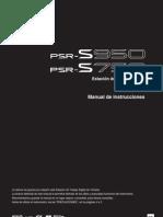 PSR S950 Manual