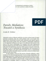 Family Mediation Toward a Synthesis