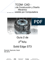 2do Año TCDM (Guía 2) Solid Edge ST3 2012
