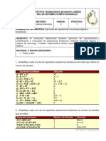 MD - Practica 4-1 - Funciones Booleanas