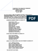 Nevada Legislative Commission Meeting Minutes June 23, 1995