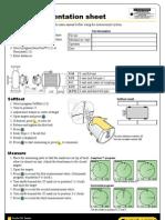 Easy-laser - Shaft Alignment Worksheet