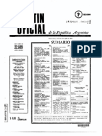Decreto 11 73 en Boletin Oficial Listado de Indultos de Campora