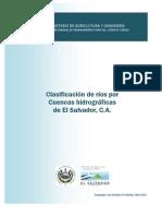 Clasificacion de Rios Por Cuencas Hidrograficas - Es
