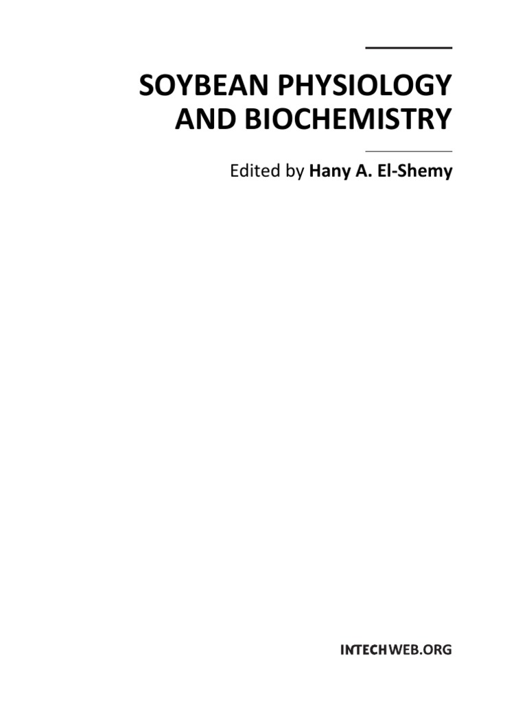 Soybean Physiology and Biochemistry   Photosynthesis   Soil