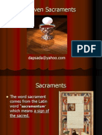 (1)the Seven Sacraments Intro
