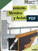 Aislamiento Térmico y Acústico - Miguel Paya