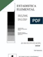 FREUND, John. Estadística Elemental