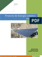 Energia Limpia Proyecto Economia