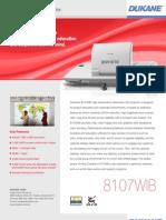 Dukane Imagepro 8107WIB
