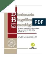 Diccionario Biografico y Genealogico 2012