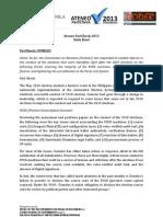 6th Brief Ateneo FactCheck 2013 Project Brief