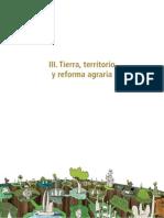 Tierra Territorio y Reforma Agraria - Fundacion Tierra