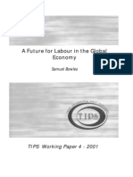 A Future for Labour in the Global Economy (Bowles S., 2001)