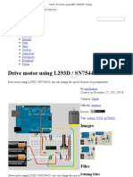 Project – Drive motor using L293D _ SN754410 - Fritzing