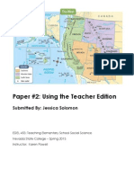 Jessica Solomon Teacher's Edition