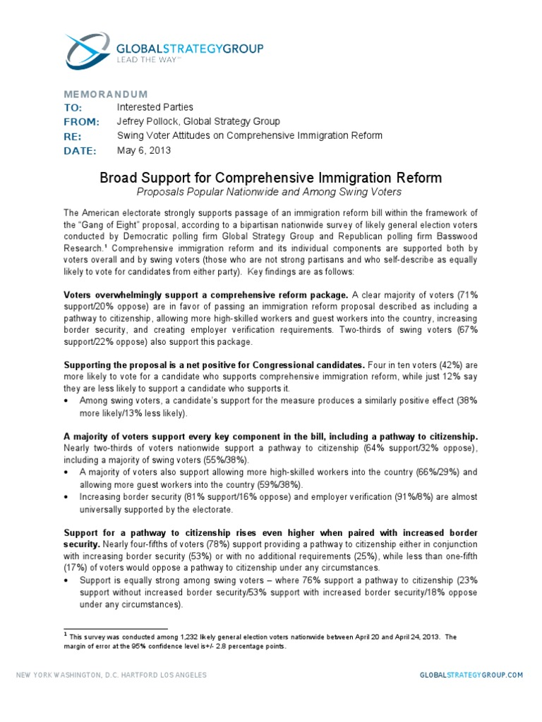 immigration reform essay topics