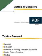 turbulence modelling