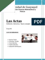 ACTA Carpeta