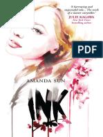 INK by Amanda Sun - Chapter Sampler