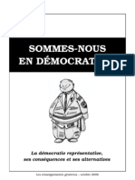Sommes-nous en démocratie - 2006  by_Bad_Wolf_for_Downparadise