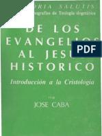 25247061 Caba Jose de Los Evangelios Al Jesus Historico