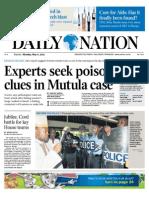 Daily Nation May 6th 2013
