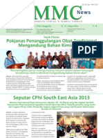 PMMC News Edisi April Mei 2013