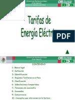 Taller Tarifas Energia Electrica