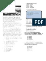 Examen de Las Olimpiadas Del Conocimiento 201-2013