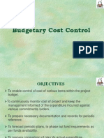 Cost Monitoring System