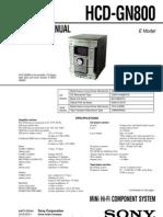Manual de Servicio Sony_hcd-gn800_ver1.0