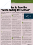 7 strategies to face the never-ending tax season